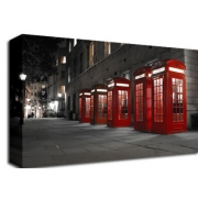 London Telephone Box B/W