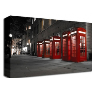 London Telephone Box B/W