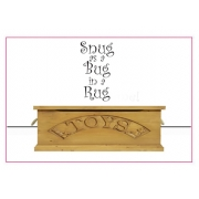 Snug As A Bug In A Rug Wall Stickers - Nursery