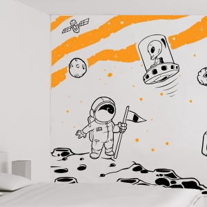 Complete Space Wall Mural