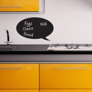 Chalkboard Wall Stickers -Speech Bubble