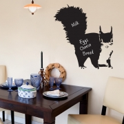 Chalkboard Wall Stickers - Squirrel