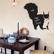Chalkboard Wall Stickers - Squirrel