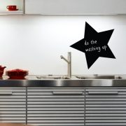 Chalkboard Wall Stickers - Star