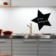 Chalkboard Wall Stickers - Star