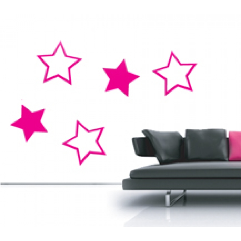 star wall stickers more information large stars decorative wall stickers by nutmeg
