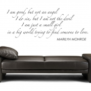 I Am Good - Marilyn Monroe Quote