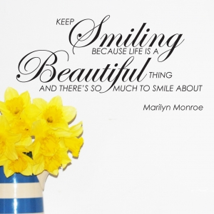 Life is a Beautiful Thing - Marilyn Monroe Quote