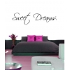 Sweet Dreams Wall Sticker - Wall Quotes