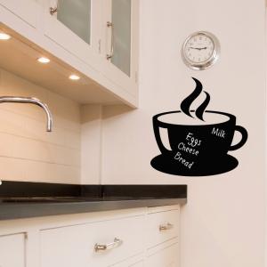 Chalkboard Wall Stickers - Cup Of Tea