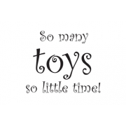 So Many Toys Wall Stickers - Nursery