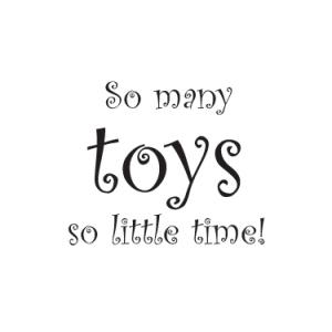 So Many Toys Wall Stickers - Nursery
