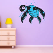 Turtle Wall Stickers - Underwater