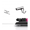 What You Looking At Banksy Wall Sticker
